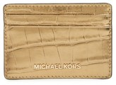 MICHAEL Michael Kors Women's Money Pieces Card Case - Metallic