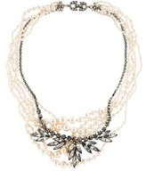 Tom Binns Multistrand Faux Pearl Necklace