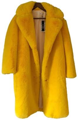 MANGO Yellow Trench Coat for Women