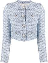 Alessandra Rich tweed fitted jacket