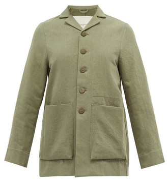 Toogood The Photographer Cotton-blend Gabardine Jacket - Light Green