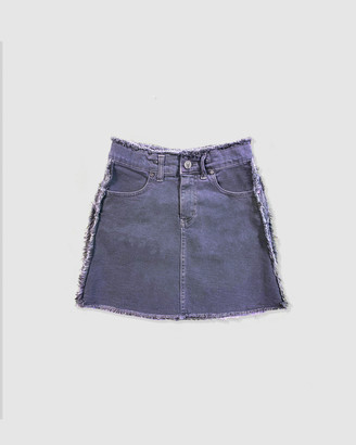 Gelati Jeans Kids - Girl's Blue Denim skirts - Freya Denim Skirt - Size One Size, 10 at The Iconic