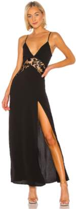 superdown Crystal Lace Maxi Dress