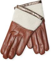 Maison Fabre Women's Half Shearling Gloves