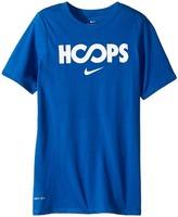 Nike Dry Hoops Basketball Tee Boy's T Shirt