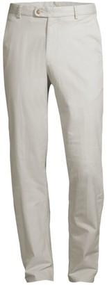 Peter Millar Twill Flat Front Pants