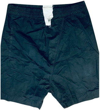 Lost & Found Ria Dunn Blue Cotton Shorts