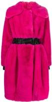 Karl Lagerfeld Paris x Carine fantasy fur coat