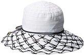 San Diego Hat Company Women's Round Crown Ribbon Hat