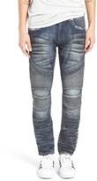 Rock Revival Skinny Fit Moto Jeans