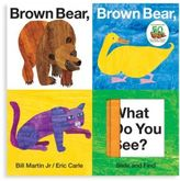Macmillan Brown Bear, Brown Bear, What Do You See? Slide & Find Book