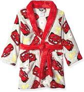 Disney 3 Lightning McQueen Boys Fleece Bathrobe Robe