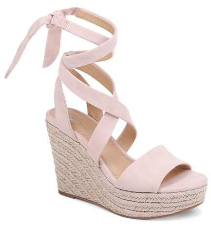 38af2dc6750 Women's Tessie Ankle-Tie Wedge Sandals