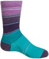 Smartwool Sulawesi Stripe Socks - Merino Wool, Crew (For Big Girls)