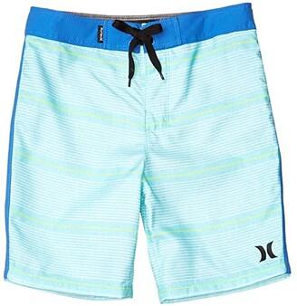Hurley Shoreline Boardshorts (Little Kids) (Aurora Green) Boy's Swimwear