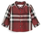 Burberry Infant Boy's Mini Fred Check Woven Shirt