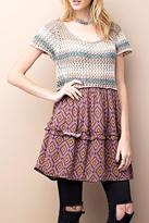 Easel Sweater Top Dress