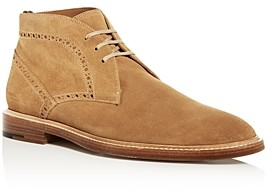 Burberry Men's Barry Brogue Suede Chukka Boots