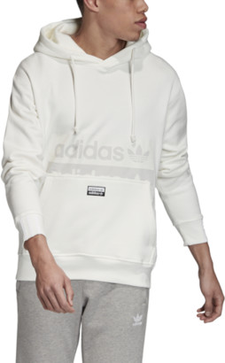 adidas Reveal Your Voice D Hoodie Sweatshirt - Core White
