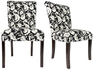 Sole Designs Roll Back Spring Upholstered Side Chair