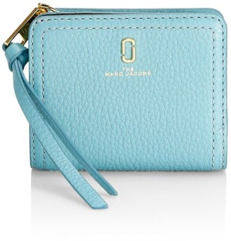 Marc Jacobs The Softshot Zip Leather Wallet