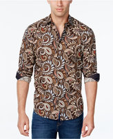 Tasso Elba Men's Paisley-Print Long-Sleeve Shirt, Classic Fit