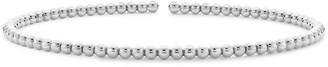 Pragnell 18kt white gold Bohemia twist bangle