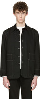 Lemaire Black Denim Jacket