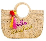 Macbeth Hello Sunshine Beach Basket Tote.