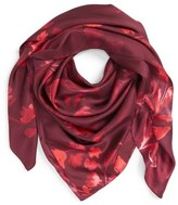 Nordstrom Woodland Whispers Square Silk Scarf