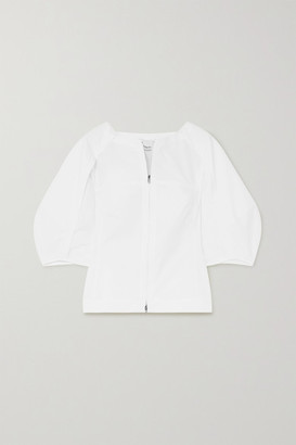 3.1 Phillip Lim Paneled Cotton-blend Top - White
