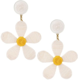 Rebecca De Ravenel Daisy Drop Earrings