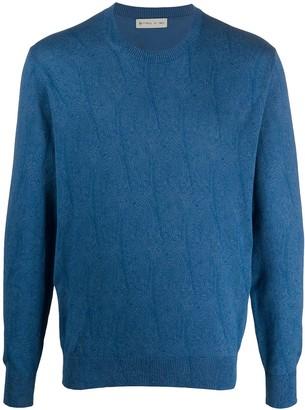Etro Paisley Pattern Jersey Knit Jumper