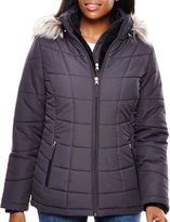 Free Country Short Puffer With Bib Coat