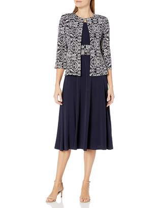 Jessica Howard Jessicahoward JessicaHoward Women's Swing Jacket Dress with Ruched Waist