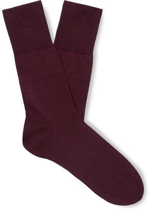 Falke Airport Stretch Virgin Wool-Blend Socks
