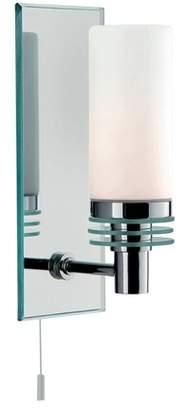 Searchlight 5611-1cc Glass Bathroom Wall Light, White