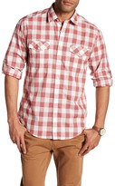 James Campbell Kelley Long Sleeve Plaid Woven Shirt
