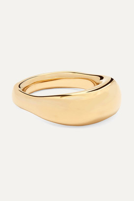Jennifer Fisher Tube Gold-plated Ring - 6