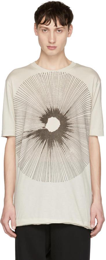 Damir Doma Off-white Teal T-shirt