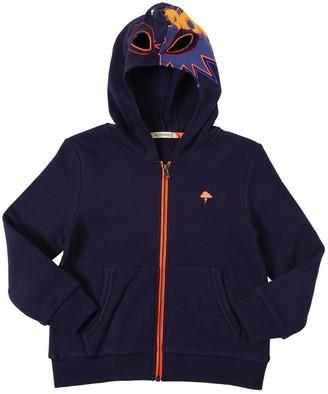 Billybandit Cotton Sweatshirt Hoodie W/ Cut-outs