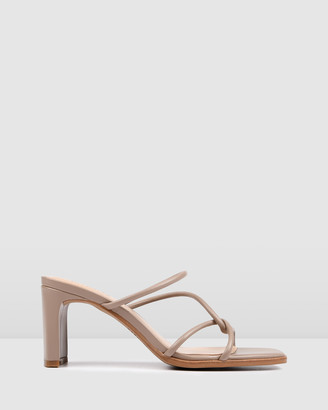 Jo Mercer - Women's Neutrals Strappy sandals - Novi Mid Heel Sandals - Size One Size, 36 at The Iconic