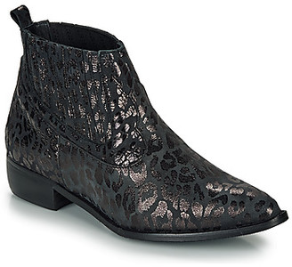 Ippon Vintage GILL ARTY women's Mid Boots in Black