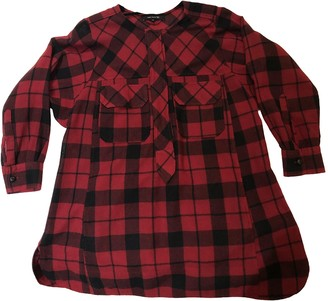 Isabel Marant Red Wool Dresses