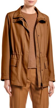 Agnona Wool Cargo-Pocket Jacket