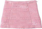 Anne Kurris Lurex Jacquard Mini Skirt