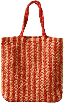 Brunna.Co Louisa Striped Jute Tote Bag