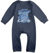 LopenD Toronto Argonauts Cute Long Sleeves Variety Baby Onesies Body Suits For Babies