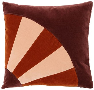 Christina Lundsteen Molly Square Cotton Velvet Pillow