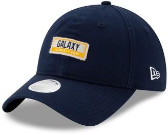 New Era Women's Navy LA Galaxy Patch 9TWENTY Adjustable Hat